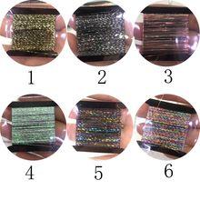 1 Набор для маникюра 6 цветов блеск линии блеск гирлянды 10-20 м/уп
