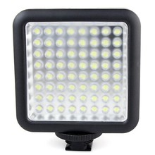 Godox LED64 Video LED Lamba Paneli Macrophotography Canon Nikon Kamera için Kamera
