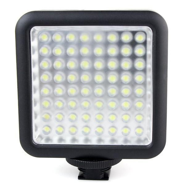 Godox LED64 Video LED Lamp Panel Macrophotography for Canon Nikon Camcorder Camera