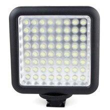 Godox LED64 Video Đèn LED Bảng Điều Chỉnh Macrophotography cho Canon Nikon Máy Quay Phim Máy Ảnh