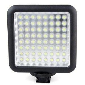 Image 1 - Godox LED64 wideo Panel LED lampa makrofotografii dla Canon Nikon kamery