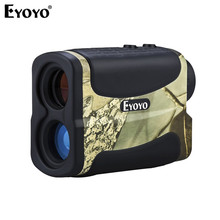 Eyoyo AF-700L Laser Range Finder Scope Meter Speed Measure Camouflage Monocular Rangefinder 6x Distance For Outdoor Sports