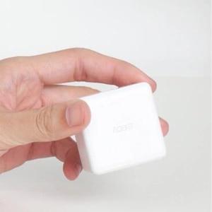 Image 4 - Aqara Cube 컨트롤러 지그비 버전 App을 작동 Xiaomi Mijia 게이트웨이 스마트 홈 키트 화이트