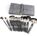 Makeup Sets Full Weasel Wool Makeup mink wood handle 20pcs/lot Quality Professional Makeup Kit