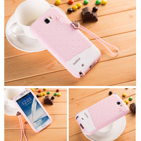 Phone Cases For Samsung Galaxy Note2 Cute 3D Cartoon TPU Silicon Case Cover For Samsung Galaxy