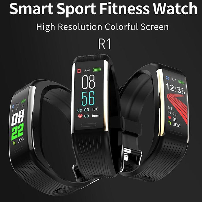 Wristband Pedometer Bluetooth-Control Fitness Waterproof With Heart-Rate-Function Touch-Screen