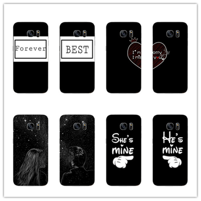 Star Boy Girl Quotes Best Friend BFF Couple For Samsung Galaxy S8 S8 Plus  A5200 A7200