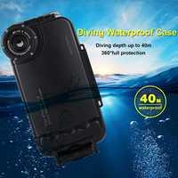 HAWEEL 40m Diving Shockproof WaterProof Full Protect Underwater Diving Case For iPhone XS Max/XR/X/XS/8 Plus/7 Plus/8/7