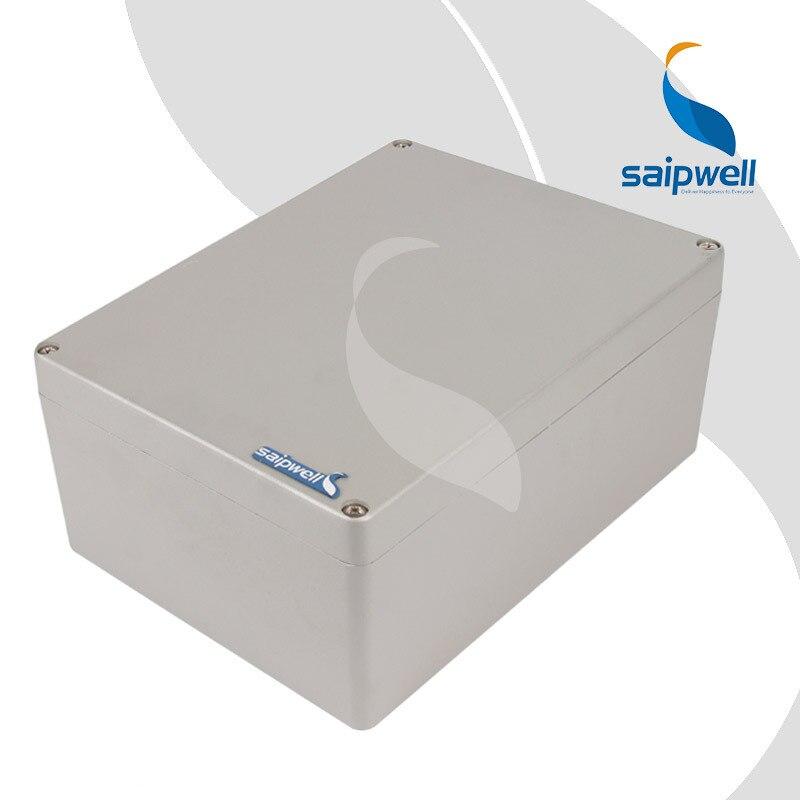 Boîtier en aluminium de pulvérisation de peinture de 300*210*130mm/boîtiers de boîte de projet imperméables pour l'électronique (SP-AG-FA69)