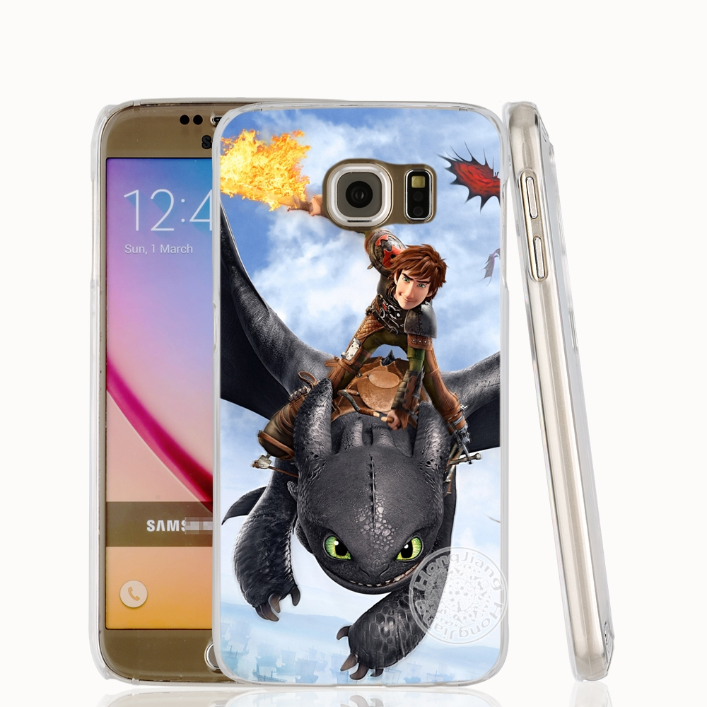 HAMEINUO toothless How To Train Your Dragon cell phone case cover for Samsung Galaxy S7 edge PLUS S8 S6 S5 S4 S3 MINI