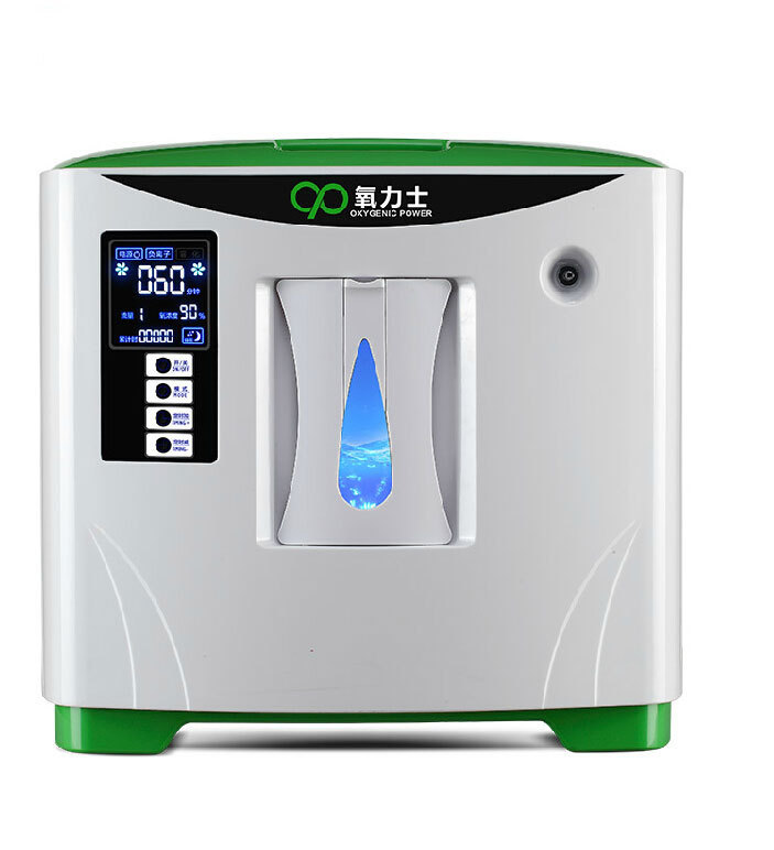 Glantop Hot Sale Portable Oxygen Concentrator Large Flow for Home Use 110V/220V GLTH00375