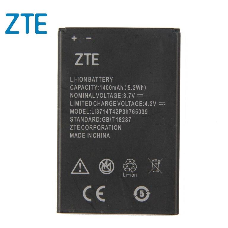 Original ZTE Li3714T42p3h765039 Phone battery For ZTE Blade A3 T220 AF3 T221 A5 AF5 T221 C341 1400mAh