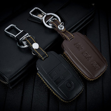 ABAIWAI Genuine Leather Car Key Covers for KIA Ceed Sorento cerato K3 K3S K4 K5 KX3