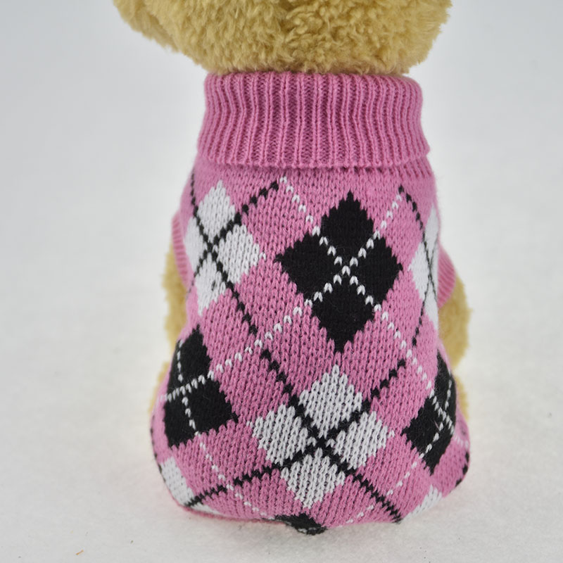 ᗔPet Dog suéter sweatershirt Invierno Caliente knit knited crochet ...