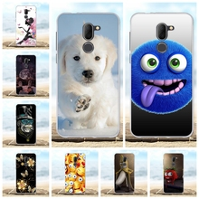 For Alcatel 3X Case Ultra-slim Soft TPU Silicone 5058I 5058Y Cover Wild Animal Pattern Funda Capa