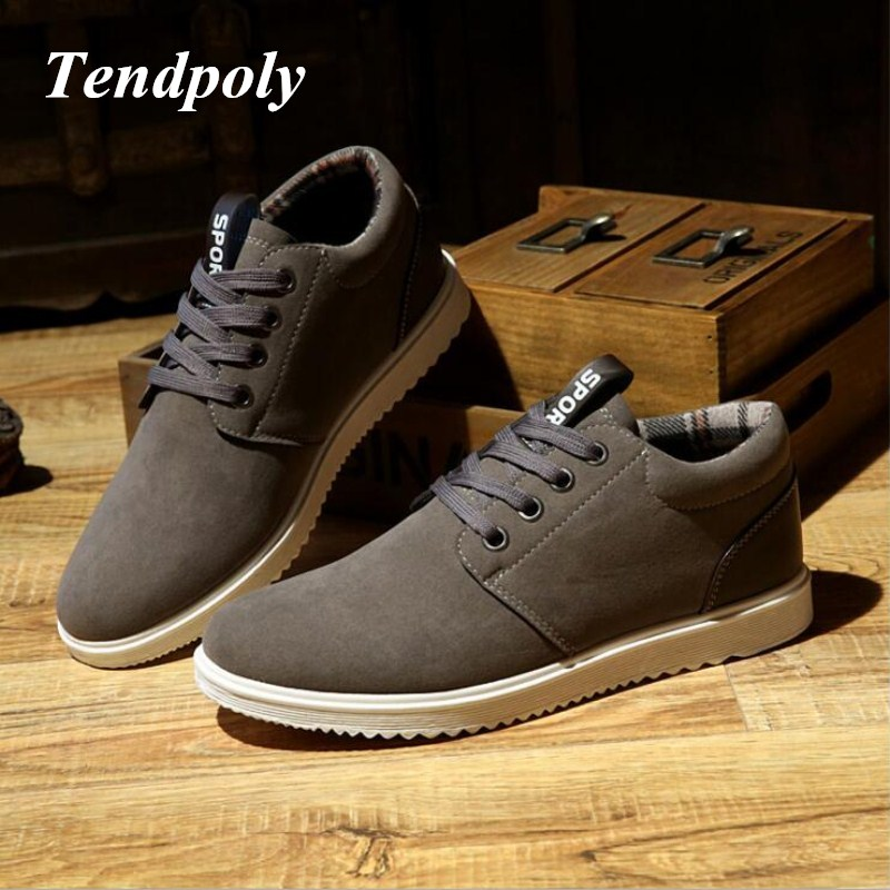 2018 Autumn winter new mens casual shoes warm British trend plate shoes fashion wild plu ...