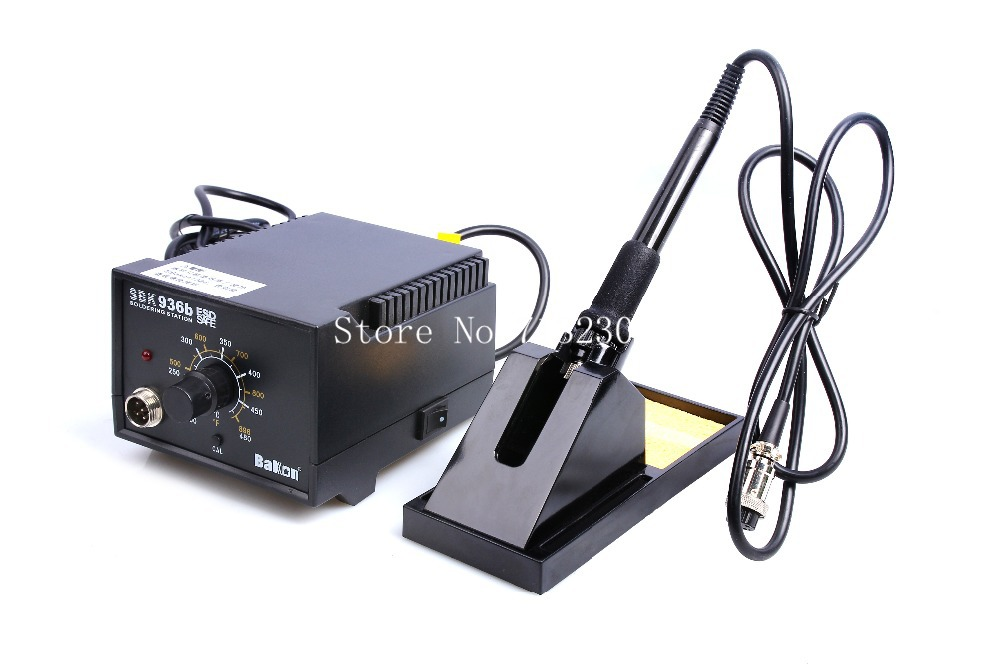 цена 220V CE certificate 40W SBK936b temperature control Soldering Station PCB lead free Soldering iron Station