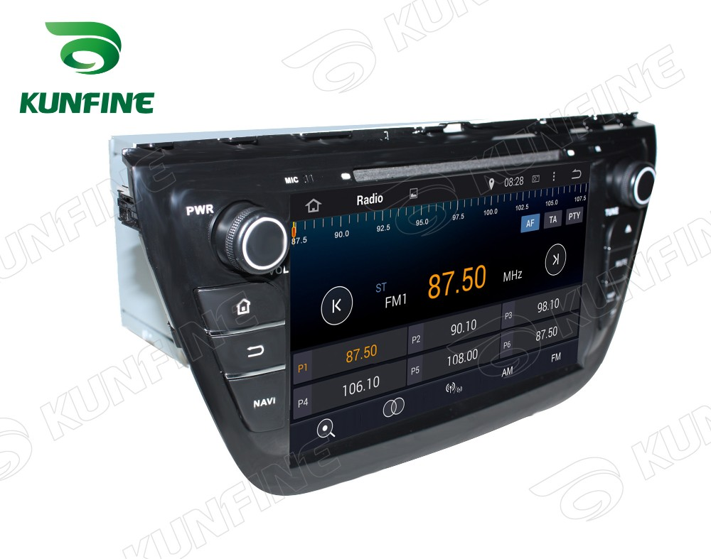 Car dvd GPS Navigation player for SX4 2014 8 inch D