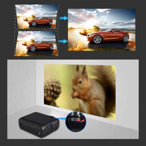 Image 2 - Everycom X7 Mini USB projector android led beamer full hd video portable home cinema Pocket TV theater video projecteur 3D