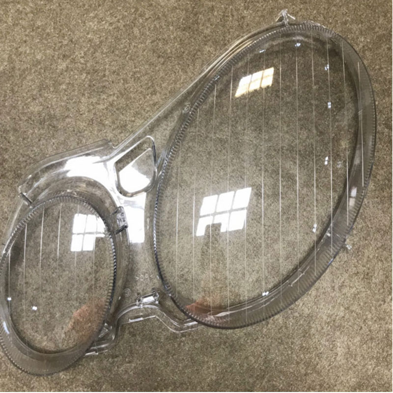 headlight transparent cover lighthouse lenses Headlight cover Front ligh for Mercedes W211 E200 E240 E350 E300 2006 2008 a pair in Lamp Hoods from Automobiles Motorcycles
