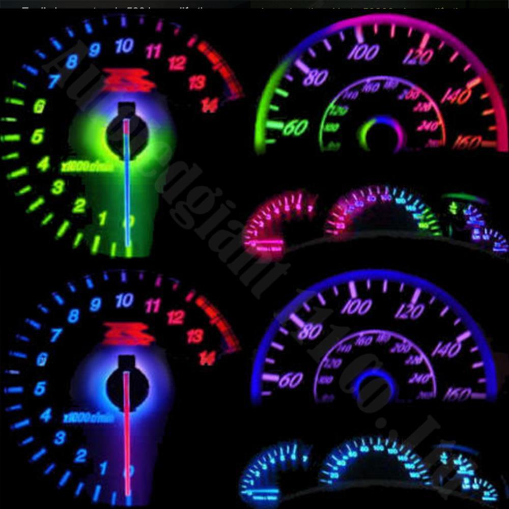US $7 98 20% OFF WLJH Car Led T5 SMD Light 74 Wedge Led Speedometer  Dashboard LED Instrument Panel Light Bulb For VW GTI Golf Jetta Rabbit  Passat-in