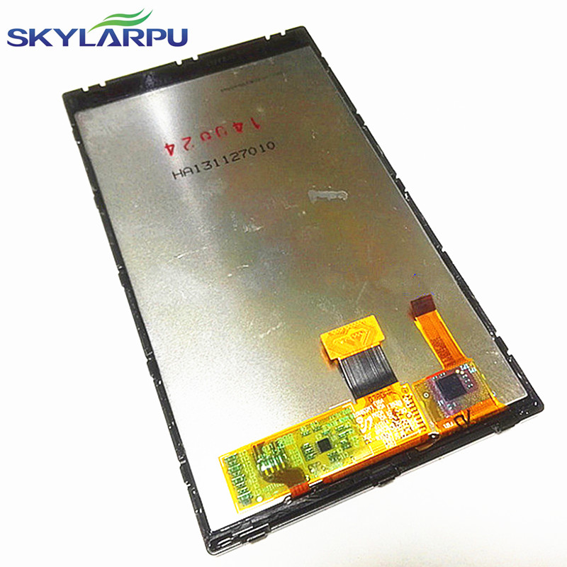 skylarpu 5.0 inch LCD screen for GARMIN Nuvi 3598LM 3598 3598LMT HD GPS LCD display screen with touch screen digitizer panel