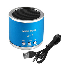 Portable Speaker Subwoofer stereo Amplifier Sound Music Support USB Micro SD TF MP3 Player FM radio For PC computer Laptop