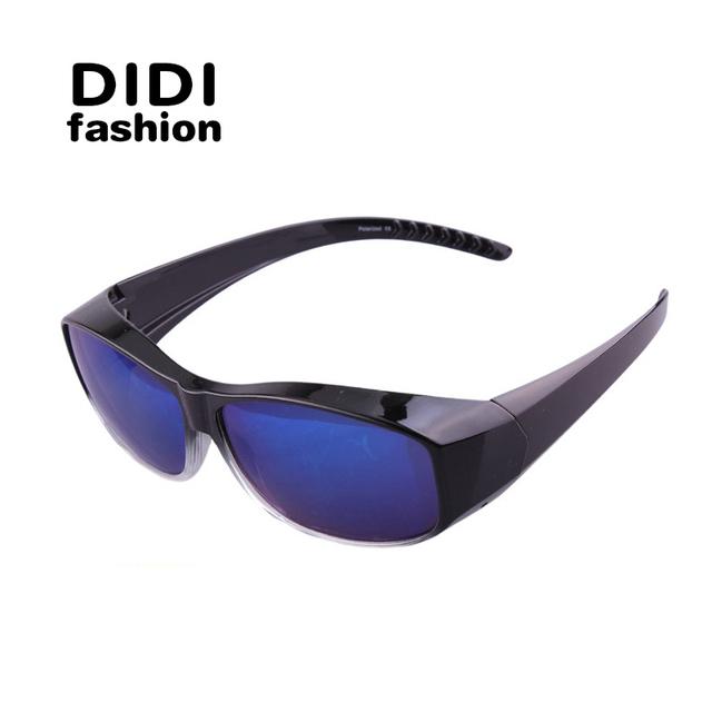 DIDI Nueva Est Moda Clásica polarizating Cubierta Miopía Gafas de Sol de Los Hombres UV400 gafas de sol de Los Hombres Gafas De Sol De La Miopía Adecuado H292
