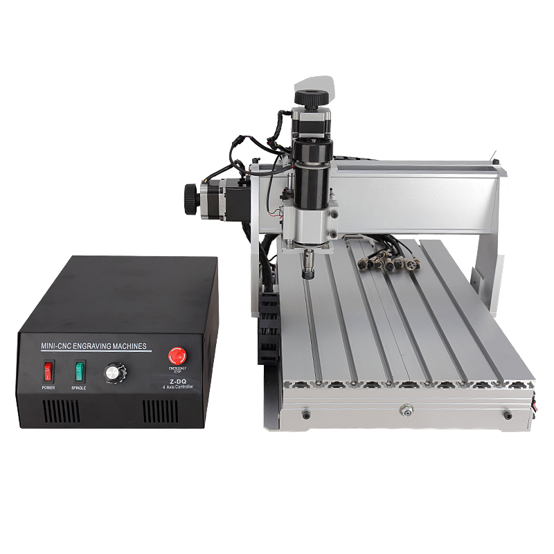 USB CNC Router 3040 4 Axis CNC Engraver Engraving Machine  Engraver For Sale (500W Spindle)  hot sale mini cnc engraver cnc router aluminum