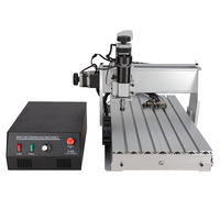 USB CNC Router 3040 4 Axis CNC Engraver Engraving Machine Engraver For Sale 500W Spindle