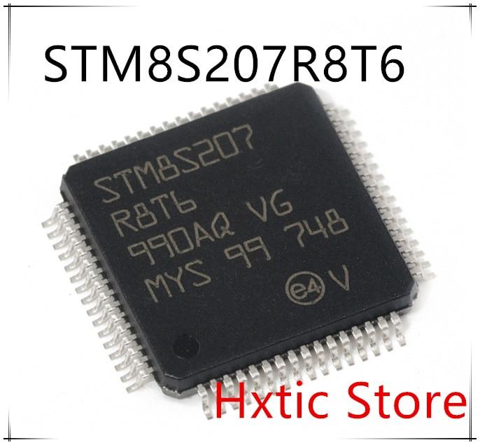 Free Shipping NEW 10PCS LOT STM8S207R8T6 STM8S207 R8T6 LQFP 64 IC