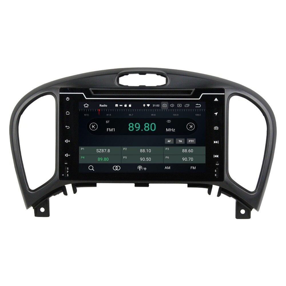 Android 8.0 Octa Core 2 din 7 Car Radio DVD GPS for Nissan Juke 2004 2016 4GB RAM Car Stereo Bluetooth WiFi USB DVR Mirror link