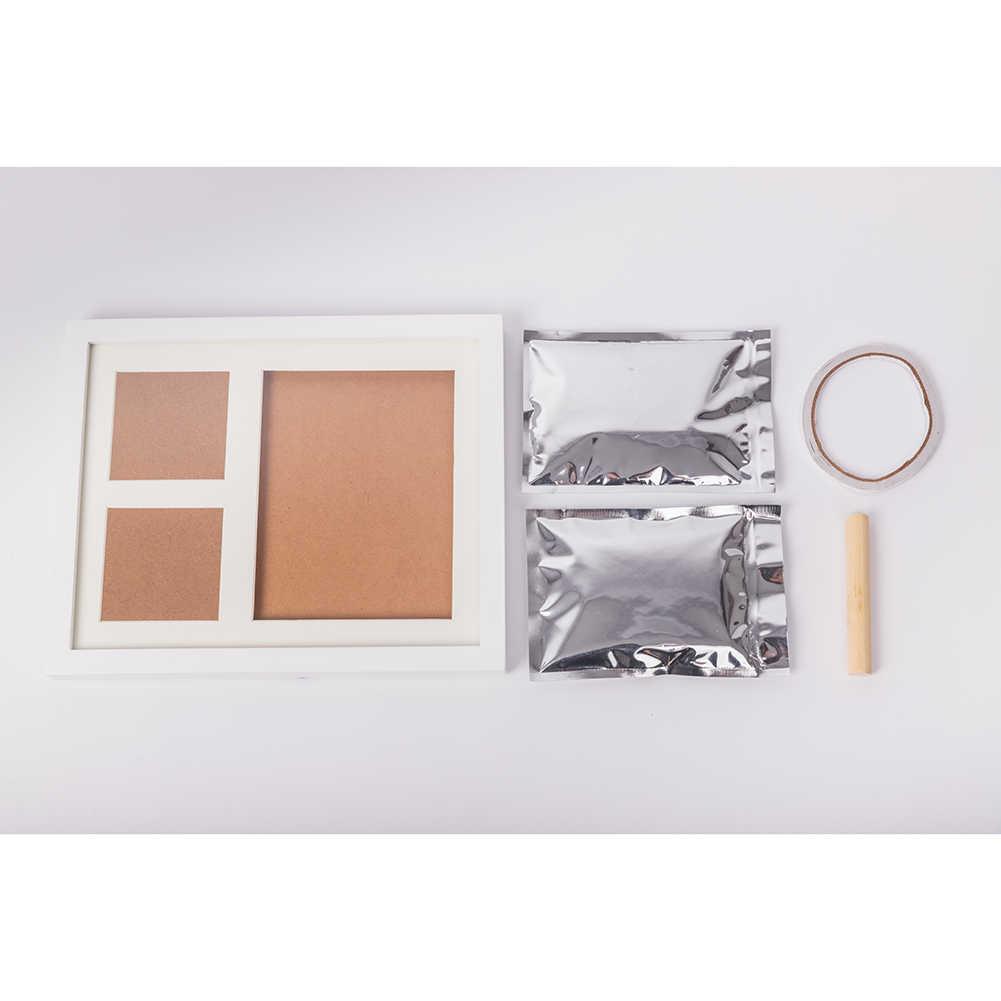 Baby Handprint Kit Footprint Photo Frame for Newborn Girls & Boys, Baby Shower Gift, Best infant Hand Foot Print Keepsake Gifts
