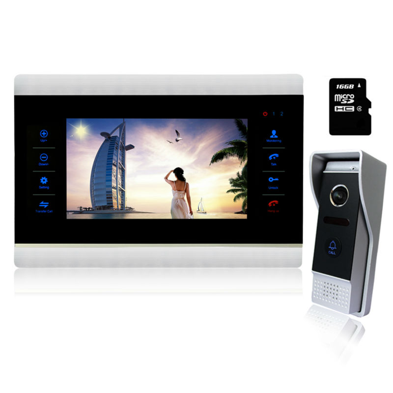 Buy homefong 10 video intercom door phone home intercom for Front door video intercom