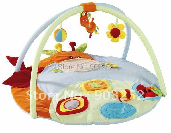 Aliexpress Com Koop Giraffe Animal Cartoon Baby Play Gym