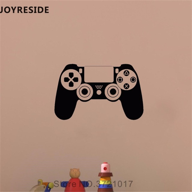 Best Offers JOYRESIDE Video Games Controller Wall Decal Computer Game Wall Sticker Vinyl Decor Home Boys Bedroom Interior Design Mural A835