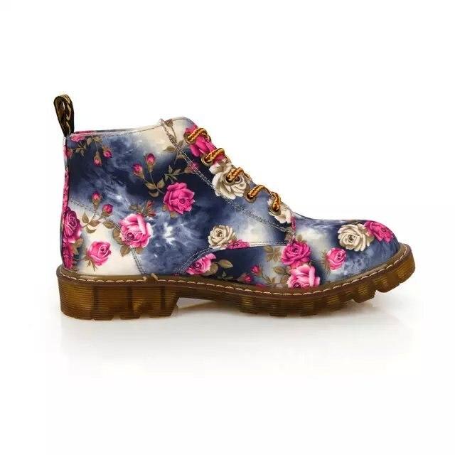 2019 Yeni Yürüyüş Dr. martins bayan ayakkabıları Klasik iş bayan Botları calzado mujer ayakkabı doc. martens Oxfords ahşap land ayakkabı
