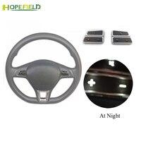 Steering wheel control buttons volume switch for VW Golf 5 Jetta 5 6 MK5 MK6 Passat B6 B7 Polo for Skoda Rapid Fabia Octavia A7