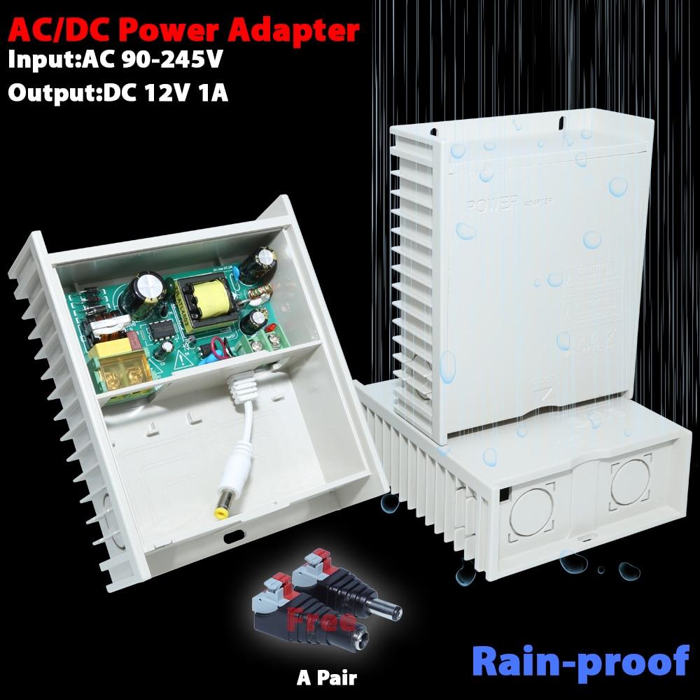 AC/DC power adapter DC12V 1A output мультиметр uyigao ac dc ua18