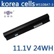 Batteria Del Computer Portatile per Fhjitsu HSW CLEVO 6 87 W510S 42F2 W510BAT 3 Batteria per il computer portatile W510LU W510S batterie W515LU batteria