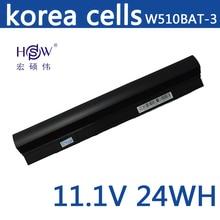 HSW Laptop Battery for Fhjitsu CLEVO 6 87 W510S 42F2 W510BAT 3 Battery for laptop W510LU W510S batteries W515LU battery