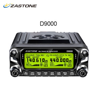 ZASTONE ZT D9000 Walkie Talkie 50km Car Mobile Radio Station 50W Dual Band UHF VHF 136