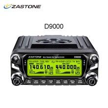 ZASTONE ZT-D9000 Walkie Talkie 50 km Auto Mobile Radio Station 50 Watt Dual Band UHF VHF 136-174 MHz 400-520 MHz Radio Transceiver D9000