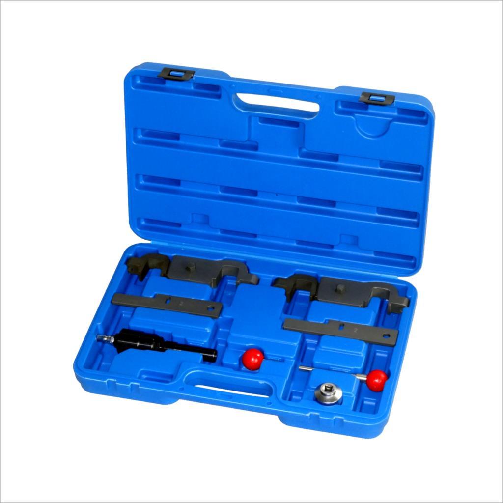 Engine Timing Tool Set For Porsche CAYENNE PANAM V8 4.5L, 4.8L V6 3.6L 9678,9595 wholesale 2 2 2 5 dci engine camshaft timing tool crankshaft alignment locking set for renault auto repair tools 2pcs lot