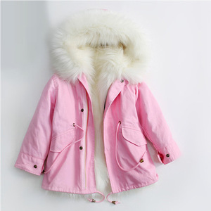 Image 5 - Koude Russische Winter Meisjes Jassen 2019 Jongens Jas Hooded Faux Fur Kinderen Parka Casual Thicken Warm Baby Kids Kleding Bovenkleding