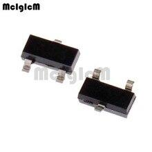 MCIGICM 2N7002K, 100 шт N-Channel 60V 380mA(Ta) 370 МВт(Ta) SMD 2N7002K-7 mosfet транзисторы СОТ-23 2N7002K