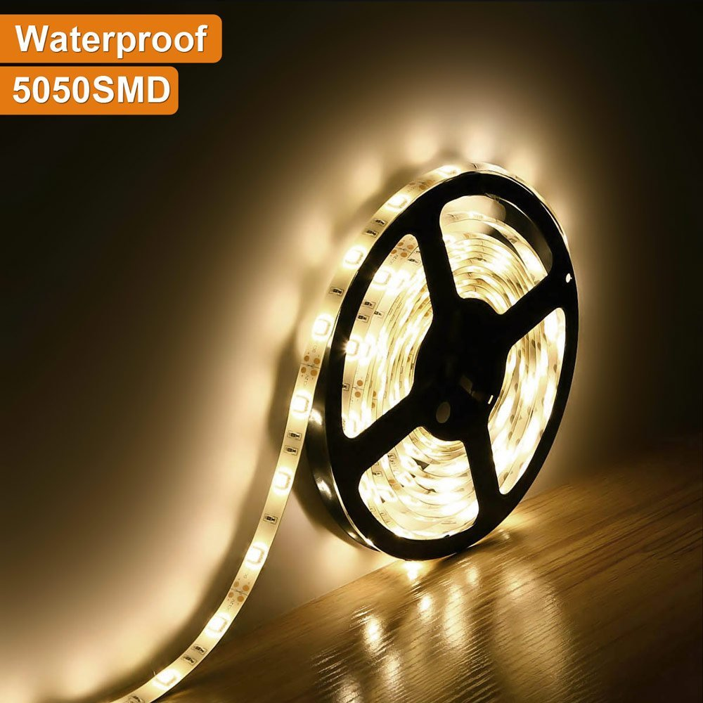 led strip licht 5050 waterdicht ip65 150led 5m dc 12v 3000K 6500k - LED-Verlichting - Foto 2