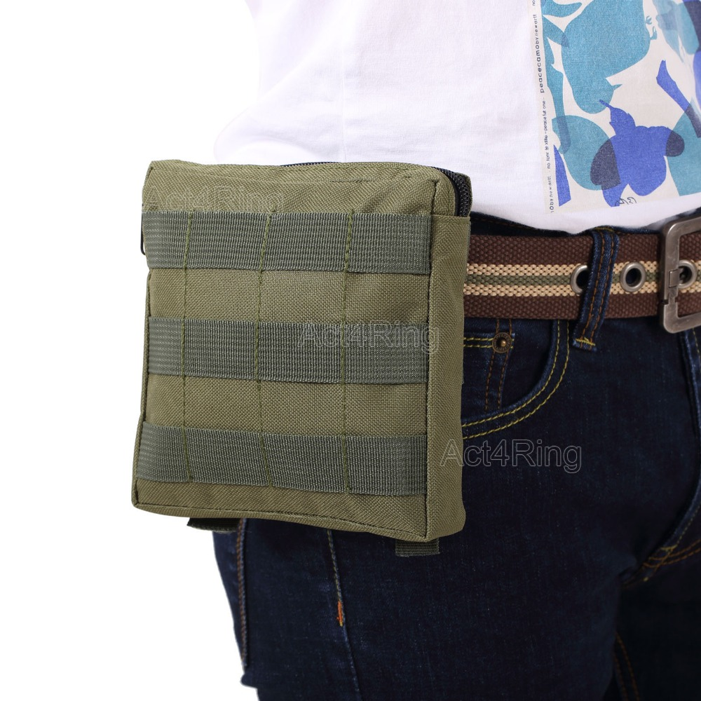 Tactical Pouch Military EDC Tool Bags Molle First Aid Hunting Accessories Bag Outdoor Waist Bag