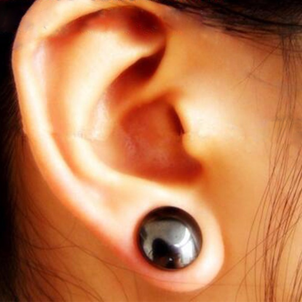 1 Pair Bio Magnetic Healthcare Earring Weight Loss ...