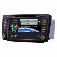 Android 8 inch Car DVD Radio multimedia Stereo Player GPS Navigation for Skoda Octavia 2007 2014 Skoda Yeti 2013 2016 (2006 201